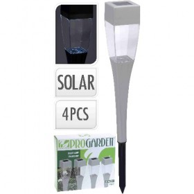 SET 4 PINCHOS SOLARES LED...